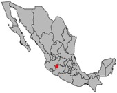 Queretaro Mexico map